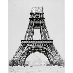 Album sur la construction de la Tour Eiffel