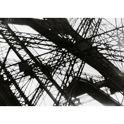 The Eiffel Tower; detail