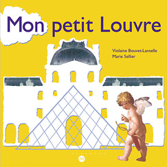 My Little Louvre Museum Picture Book