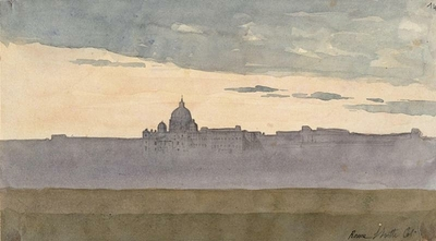 Album of Rome's Views: the Vatican, general view