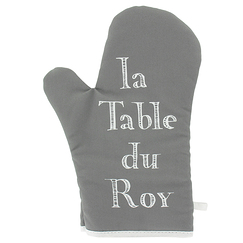 "Oven mitt ""La table du Roy"""