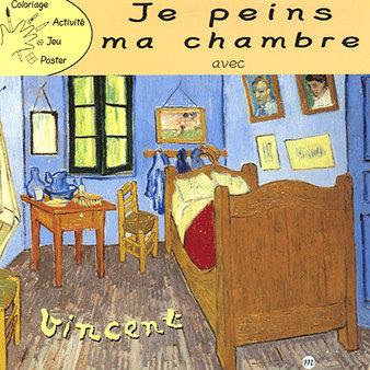 Je peins ma chambre avec vincent van gogh boutiques de Chambre van gogh