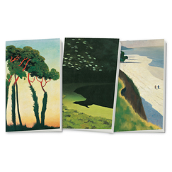 "Lot de 3 carnets ""Vallotton : Paysages"""