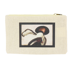 """Woman with hat"" Cosmetic case"