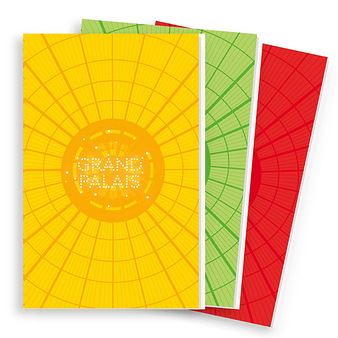"3 Notebooks ""Grand Palais glass roof"""