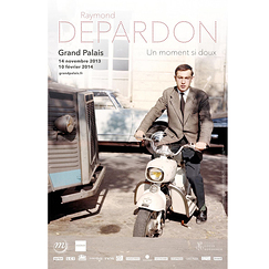 Raymond Depardon - Un moment si doux Exhibition poster