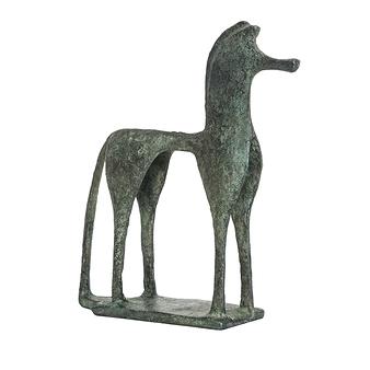 Cheval grec géométrique - Bronze