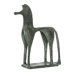 Geometric Greek horse