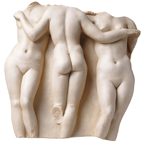 "Bas-relief ""The Three Graces"""