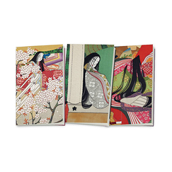 "3 small notebooks ""Dit du Genji"""