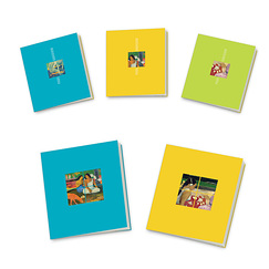 5 small notebooks Gauguin