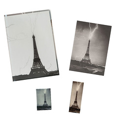 "Stationery set ""Tour Eiffel foudroyée"""