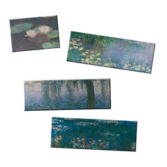 Lot de 4 magnets Monet