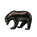 Small Brown Bear F Pompon