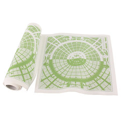 "20 table napkins - Ligne ""Nef Grand Palais Réséda"""