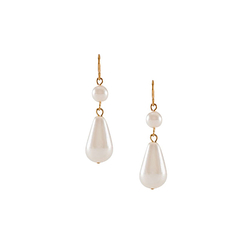 Queen's Pearls Earrings