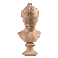 Bust of a Little Girl - Saly