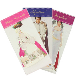 Set of 3 Paper Dolls
