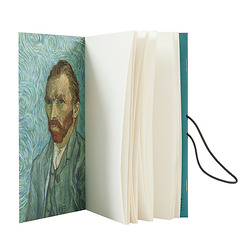 Reversible notebook Van Gogh / Artaud. The Man Suicided by Society