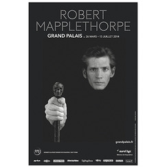 "Affiche de l'exposition ""Robert Mapplethorpe"""