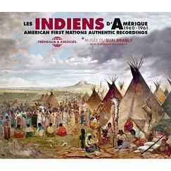 Coffret 2 CD Les indiens d'Amérique 1960-1961 - American First Nation Authentic Records