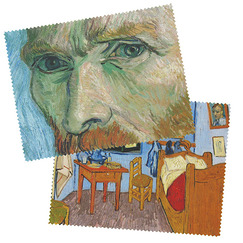 "2 Glasses cloth ""Van Gogh"""