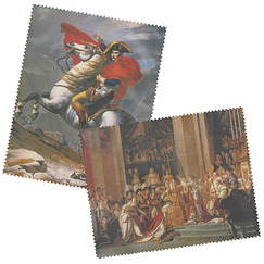 "2 Glasses cloth ""Napoléon"""