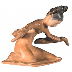 Figure of Chinese dancer