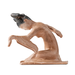 Figure of Chinese dancer - Left version