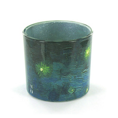 """Starry night"" candle jar"