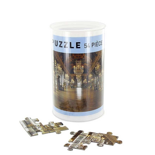 54 pieces jigsaw puzzle - Hall of Mirrors