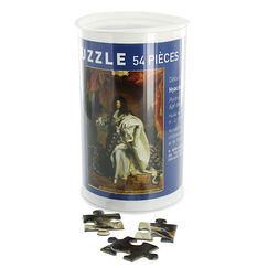 Portrait of Louis XIV Jigsaw puzzle
