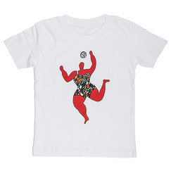 "T-Shirt Niki de Saint Phalle ""Volleyball"""