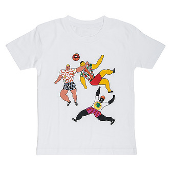 "T-Shirt Niki de Saint Phalle ""Football"""