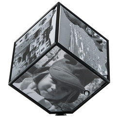 Magic Photo Cube - Cube photo rotatif