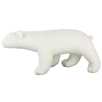 White polar bear cuddly toy