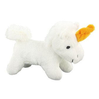 The unicorn cuddly toy