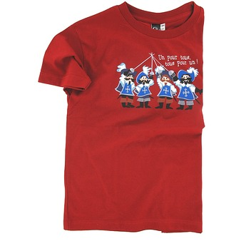 Mousquetaires T-shirt - Red