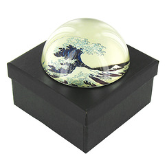"Hokusai, ""The Great Wave"" Paperweight"