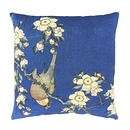 "Hokusai, ""Bullfinch"" Cushion cover"