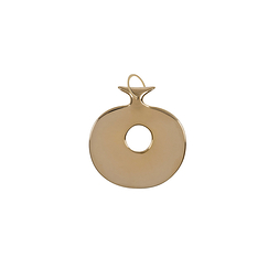 Gold plated Lydian Pendant - Small