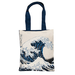 "Hokusai, ""The Great Wave"" Bag"