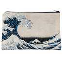 "Hokusai, ""The Great Wave"" Pencil pouch"