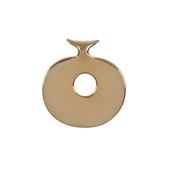 Gold plated Lydian Pendant - Medium