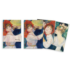 "3 small notebooks ""Renoir"""
