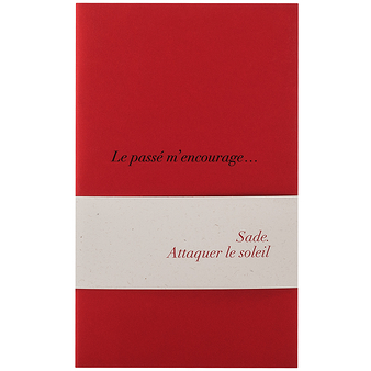 "3 small notebooks ""Sade"""