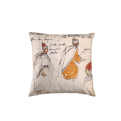"Delacroix cushion ""Jumper"""
