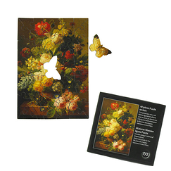 Wooden jigsaw puzzle 40 pieces - Flowers in a vase
