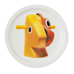 "Assiette Koons ""Split Rocker"""