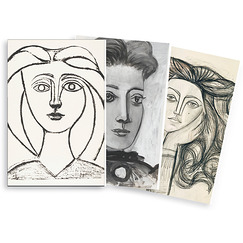 "Lot de 3 carnets ""Picasso Dessins"""